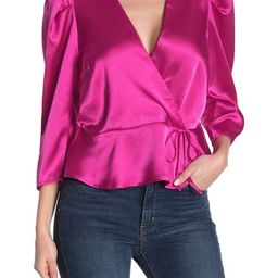 Puff Sleeve Woven Blouse   Nordstrom Rack