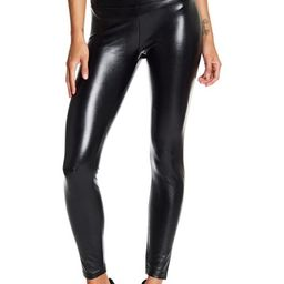Faux Leather Stretch Leggings   Nordstrom Rack