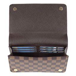 Daisy Rose Checkered Cross body bag - RFID Blocking with Credit Card slots clutch -PU Vegan Leath...   Walmart (US)