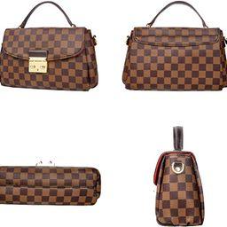 Herrosy Checkered Shoulder Bags,Designer Purses PU Leather Crossbody Bags Fashion Handbags for Wo...   Amazon (US)