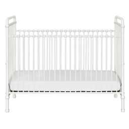 Million Dollar Baby Classic Abigail 3-in-1 Convertible Iron Crib (Color: Washed White) | The Tot