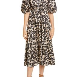 Kaleidoscope Puff Sleeve Dress   Nordstrom
