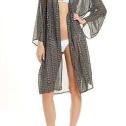 Printed Open Front Cover-Up   Nordstrom