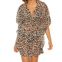 Leopard Printed Caftan Cover-Up   Macys (US)