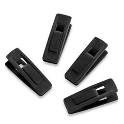 Real Simple® 12-count Hanger Clips in Black | Bed Bath & Beyond