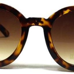 Women's Designer Inspired Oversized Round Circle Sunglasses Mod Fashion | Amazon (US)
