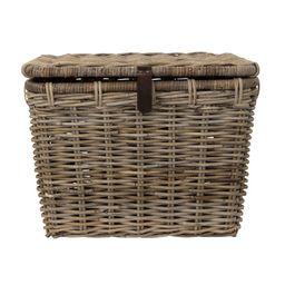 Rattan Trunk Basket | McGee & Co.