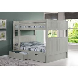 G Full over Full Bunk Bed with Drawers | Wayfair North America