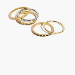 Filament Stacking Rings   Madewell