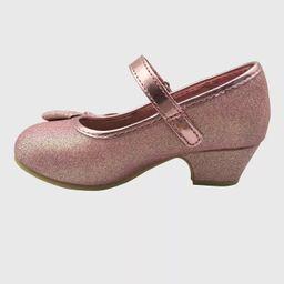 Toddler Girls' Disney Princess Ballet Flats - Rose Gold   Target