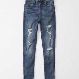 Curve Love High Rise Super Skinny Jeans | Abercrombie & Fitch US & UK
