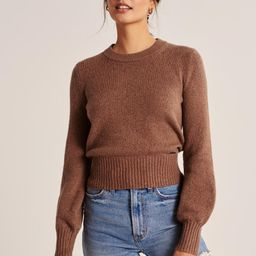 Crewneck Sweater | Abercrombie & Fitch US & UK