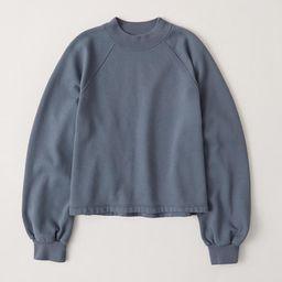 Mini Mockneck Sweatshirt | Abercrombie & Fitch US & UK