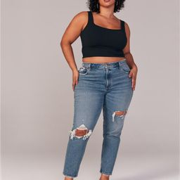 High Rise Mom Jeans | Abercrombie & Fitch US & UK