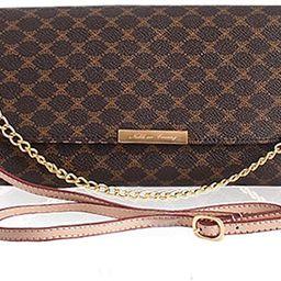 Leather Accents Baguette Bag   Amazon (US)