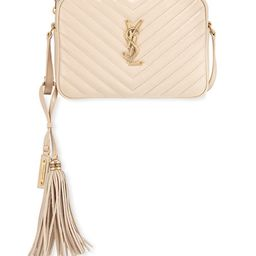Lou Medium Monogram YSL Calf Crossbody Bag | Neiman Marcus