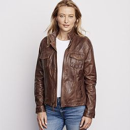 Latitude Leather Jacket   Orvis (US)