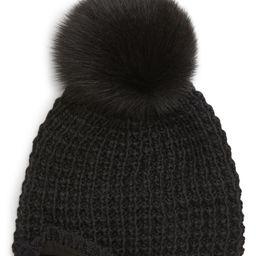 Genuine Fox Pompom Hat | Nordstrom