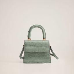 Texture mini bag | MANGO (US)