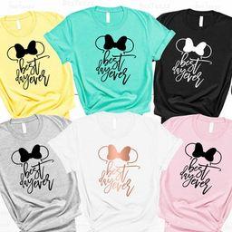 Disney Shirt For Women, Best Day Ever Disney Shirt, Disney Shirts, Minnie Mouse Shirt, Girls trip...   Etsy (US)