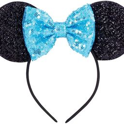 Sequins Bowknot Lovely Mouse Ears Headband Headwear for Travel Festivals   Amazon (US)