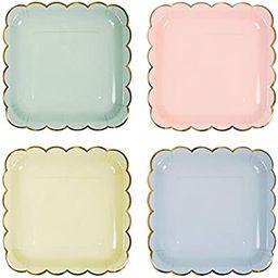 Meri Meri, Pastel Plates, Birthday, Party Decorations - Large | Amazon (US)
