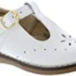 FootMates Girl's Sherry T-Strap White - 2530/10 Toddler M/W | Amazon (US)
