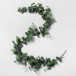 """72"""" Faux Eucalyptus Garland - Hearth & Hand™ with Magnolia 