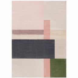 Georgie Geometric Ivory Area Rug Corrigan Studio Rug Size: Rectangle 4' x 6' | Wayfair North America