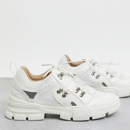 Missguided chunky trainer in white | ASOS UK