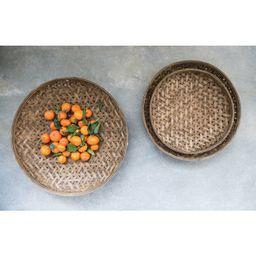 3 Piece Wicker Basket Set | Wayfair North America