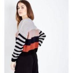Multi Coloured Stripe Jumper New Look   New Look (UK)