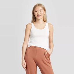 Women's Slim Fit Any Day Tank Top - A New Day™ | Target