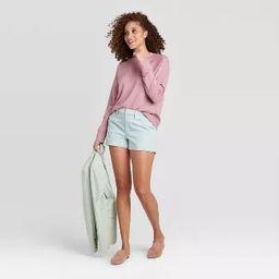 Women's Raglan Crewneck Pullover - A New Day™ | Target