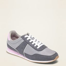 Retro Color-Blocked Sneakers for Women | Old Navy (US)