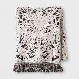 Allover Pattern Towel Black/White - Opalhouse™ | Target