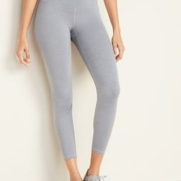 High-Waisted Elevate 7/8-Length Compression Leggings for Women   Old Navy (US)