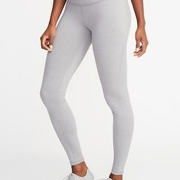 High-Waisted Soft-Brushed Elevate Compression Leggings For Women   Old Navy (US)