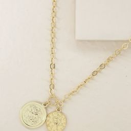The Adventurer Double Coin Necklace | Ettika