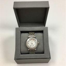 Michele Caber Watch Stainless Steel & Diamonds | eBay US