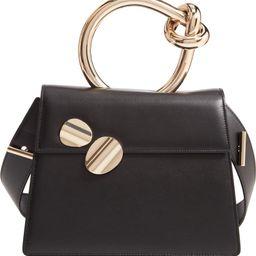 Big Brigitta Leather Top Handle Satchel | Nordstrom