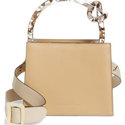 Small Anais Calfskin Leather Top Handle Bag | Nordstrom