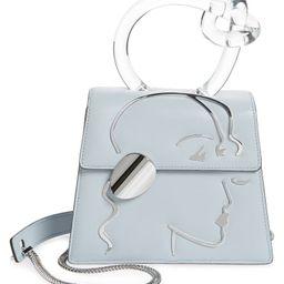 Small Brigitta Sleeping Beauty Calfskin Leather Top Handle Satchel | Nordstrom