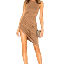 Lovers + Friends Eva Midi Dress in Deep Taupe from Revolve.com | Revolve Clothing (Global)