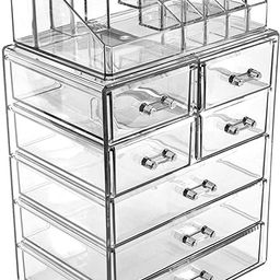 Sorbus Cosmetic Makeup and Jewelry Storage Case Display - Spacious Design - Great for Bathroom, D... | Amazon (US)