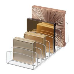 iDesign Clarity Vertical Plastic Palette Organizer for Storage of Cosmetics, Makeup, and Accessor... | Amazon (US)