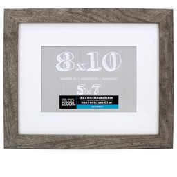 Gray Belmont Frame With Mat By Studio Décor® | Michaels Stores
