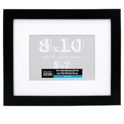Black Belmont Frame With Mat By Studio Décor® | Michaels Stores