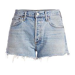 AGOLDE Women's Parker High-Rise Shorts - Riptide - Size 29 (6-8) | Saks Fifth Avenue