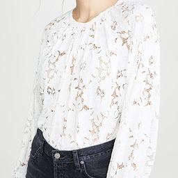 Olivia Lace Top | Shopbop